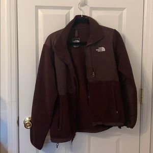 NEW north face brown jacket